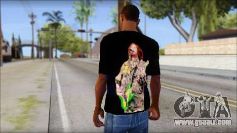 Max Cavalera T-Shirt v1 for GTA San Andreas second screenshot