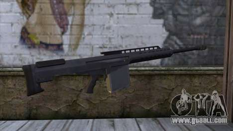 Heavy Sniper from GTA 5 for GTA San Andreas second screenshot