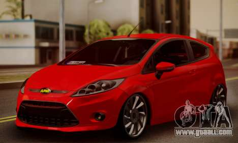 Ford Fiesta Turkey Drift Edition for GTA San Andreas