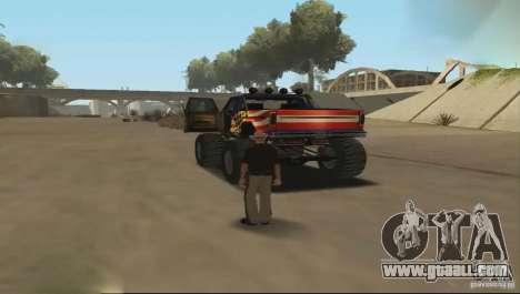 Remote control car for GTA San Andreas