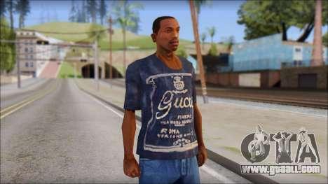 Gucci T-Shirt for GTA San Andreas