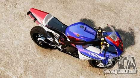 Yamaha YZF-R1 PJ1 for GTA 4 right view
