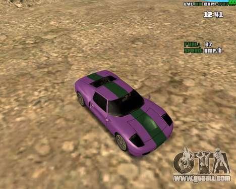 Crazy Car for GTA San Andreas
