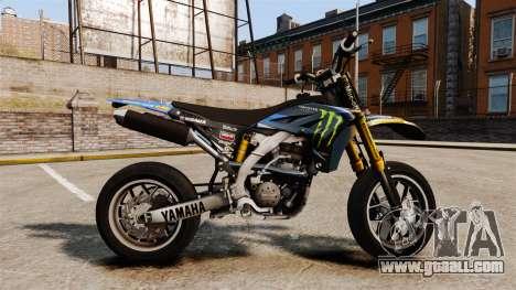 Yamaha YZF-450 v1.8 for GTA 4 left view