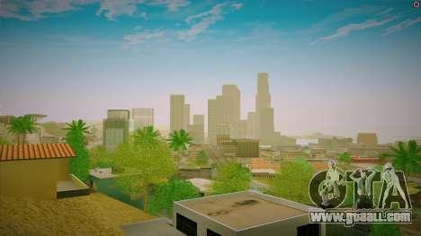 ENBSeries for a powerful PC for GTA San Andreas third screenshot