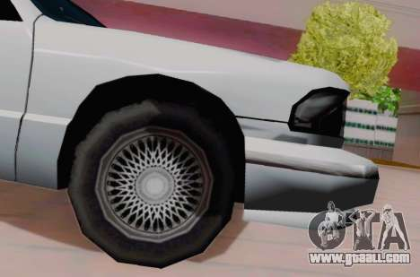 Premier Coupe for GTA San Andreas right view