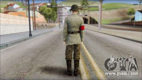 Wehrmacht soldier for GTA San Andreas second screenshot