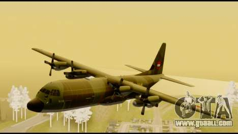 C-130 Hercules Indonesia Air Force for GTA San Andreas