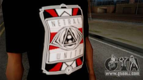 Netral T-Shirt for GTA San Andreas third screenshot