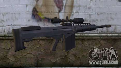 Heavy Sniper from GTA 5 v2 for GTA San Andreas second screenshot