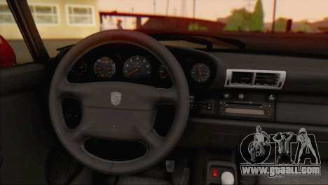 Porsche 911 GT2 (993) 1995 V1.0 EU Plate for GTA San Andreas back view