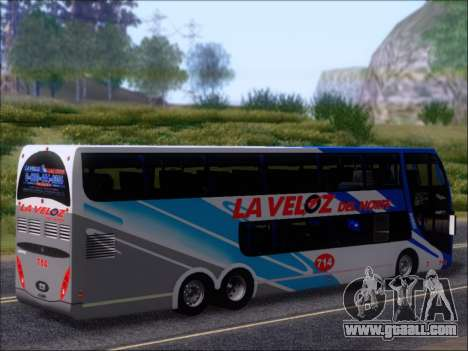Metalsur Starbus DP 1 6x2 - La Veloz del Norte for GTA San Andreas wheels