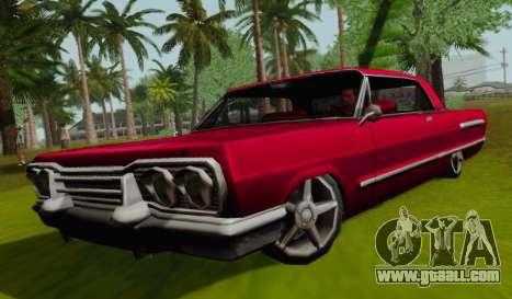 Savanna Coupe for GTA San Andreas