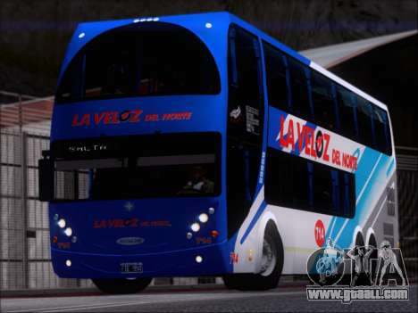 Metalsur Starbus DP 1 6x2 - La Veloz del Norte for GTA San Andreas left view