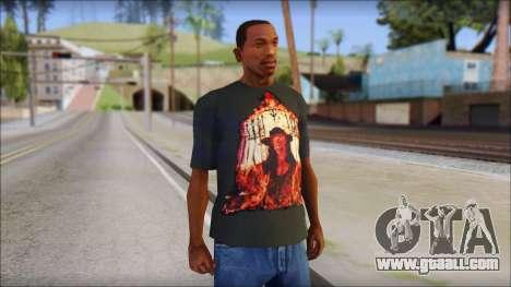 Undertaker T-Shirt for GTA San Andreas
