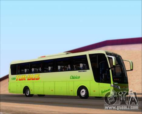 Busscar Vissta LO Scania K310 - Tur Bus for GTA San Andreas side view