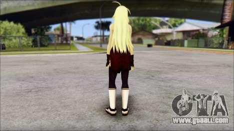 Clousen from Ikkitousen for GTA San Andreas second screenshot