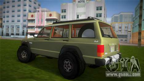 Jeep Cherokee v1.0 BETA for GTA Vice City left view