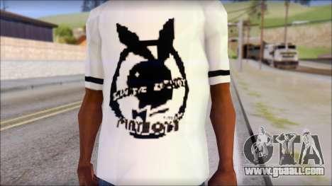 T-Shirt PlayBoy for GTA San Andreas third screenshot