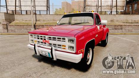 GMC 454 Pick-Up Up for GTA 4
