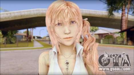 Final Fantasy XIII - Lightning Casual for GTA San Andreas third screenshot