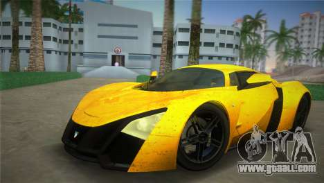 Marussia B2 2010 for GTA Vice City
