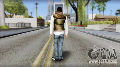 Alex from Prototype Alpha Texture for GTA San Andreas second screenshot