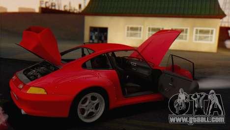 Porsche 911 GT2 (993) 1995 V1.0 EU Plate for GTA San Andreas side view
