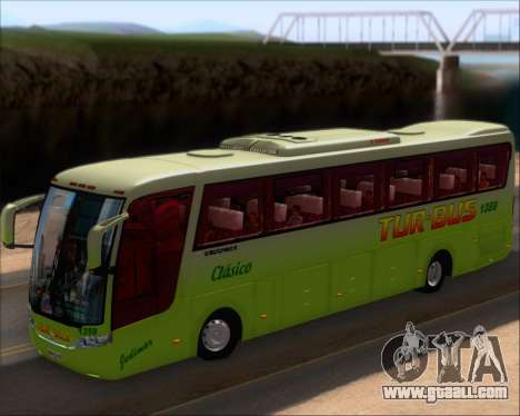 Busscar Vissta LO Scania K310 - Tur Bus for GTA San Andreas inner view
