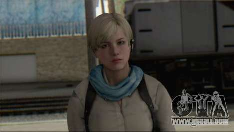 Sherry Birkin Asia from Resident Evil 6 for GTA San Andreas third screenshot