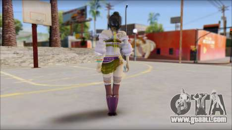 Lebreau From Final Fantasy for GTA San Andreas second screenshot