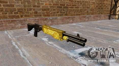 Gun Franchi SPAS-12 Gold for GTA 4