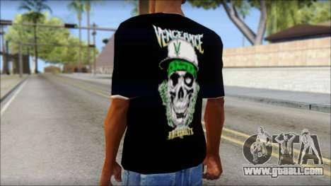 A7X New T-Shirt for GTA San Andreas second screenshot