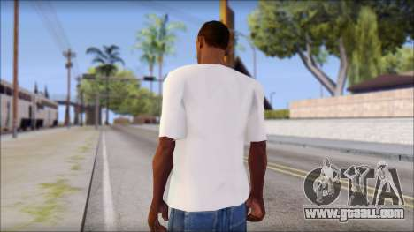 Free Bird T-Shirt for GTA San Andreas second screenshot