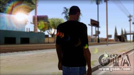Diablo T-Shirt for GTA San Andreas second screenshot
