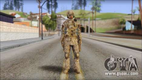 Desert SFOD from Soldier Front 2 for GTA San Andreas