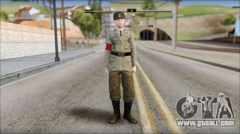 Wehrmacht soldier for GTA San Andreas