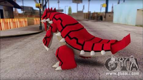 Groudon Pokemon for GTA San Andreas second screenshot