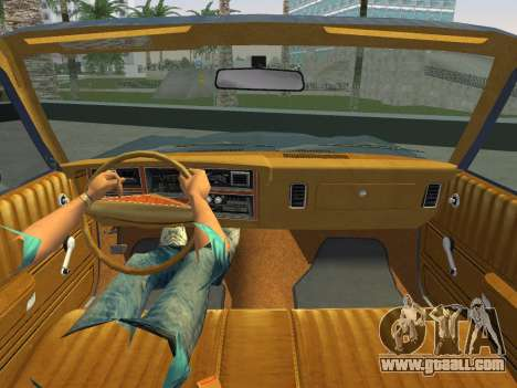 Dodge Aspen 1979 for GTA Vice City right view
