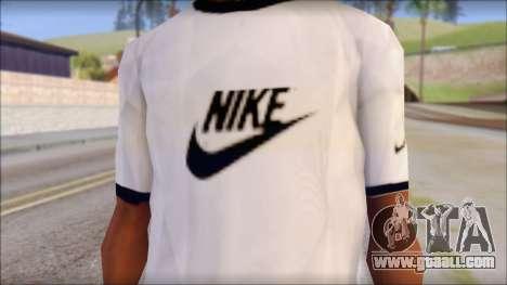 Nike Shirt for GTA San Andreas third screenshot