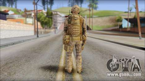 Desert SFOD from Soldier Front 2 for GTA San Andreas second screenshot