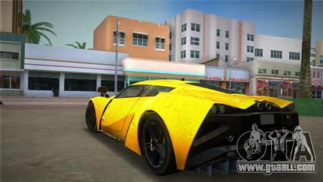 Marussia B2 2010 for GTA Vice City left view