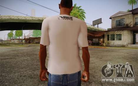 Nick Automatic T-Shirt for GTA San Andreas second screenshot