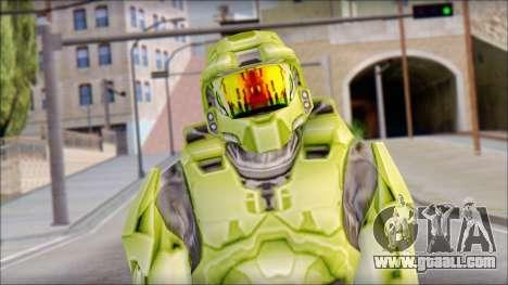 Masterchief Green from Halo for GTA San Andreas