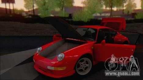 Porsche 911 GT2 (993) 1995 V1.0 EU Plate for GTA San Andreas inner view