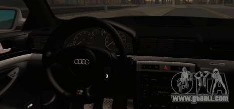 Audi S4 Stock 2000 for GTA San Andreas right view