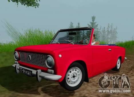 VAZ 2101 Convertible for GTA San Andreas