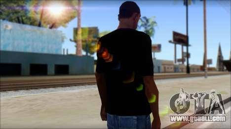 Black Sabbath T-Shirt v1 for GTA San Andreas second screenshot