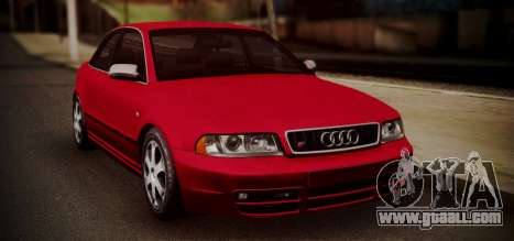 Audi S4 Stock 2000 for GTA San Andreas left view