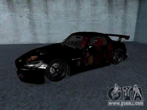 Honda S2000 from Fast & Furious for GTA San Andreas